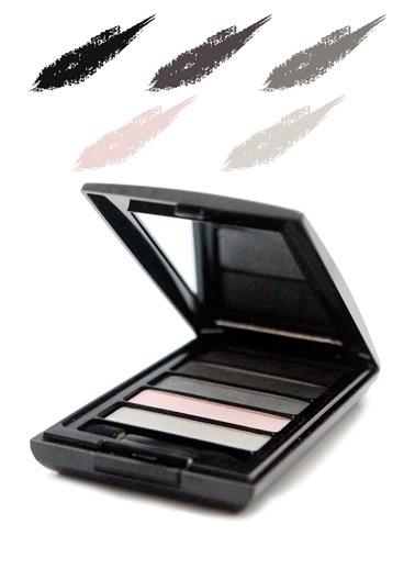 Tca Studio Make Up Eyeshadow Palette 5 Smokey Eyes Renkli